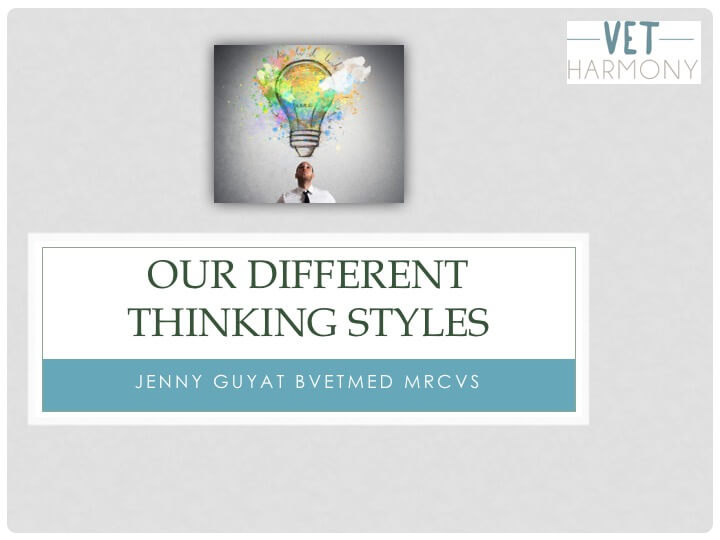 Understanding our Different Thinking Styles using Psychometric Profiling