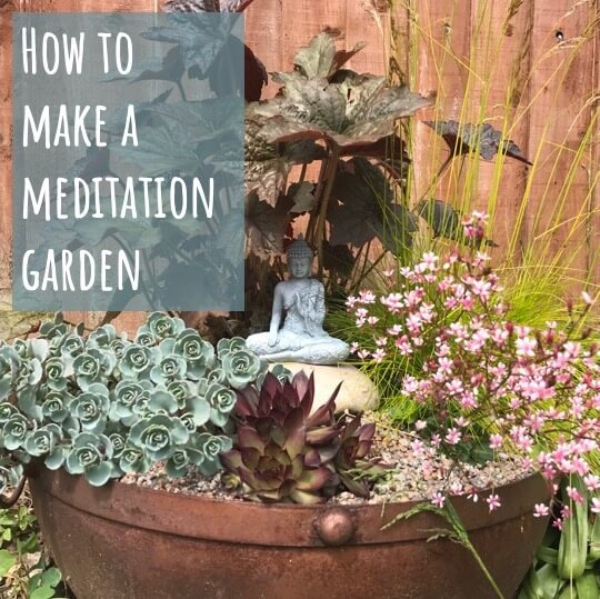 How to make a meditation garden
