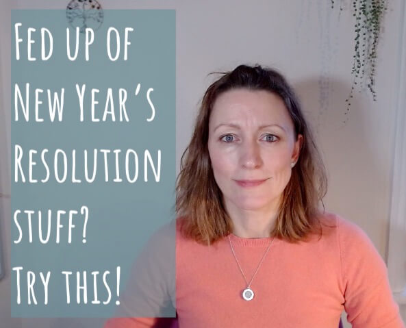 Fed up of New Year's Resolution Stuff?  Try this!